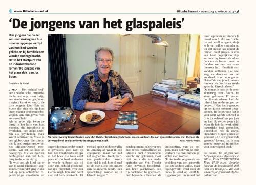 Biltse Courant 29 oktober 2014
